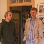 Robert Nyberg och Björn Lundgren samtalar