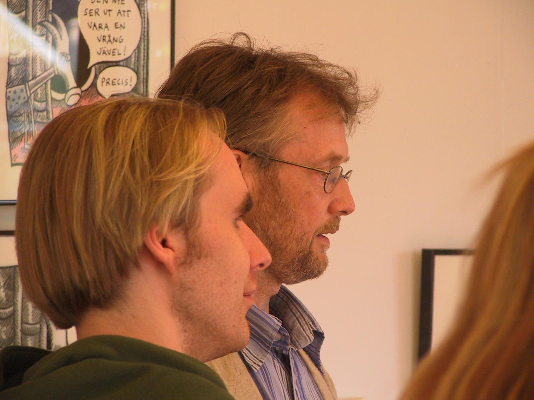 Björn Lundgren och Robert Nyberg