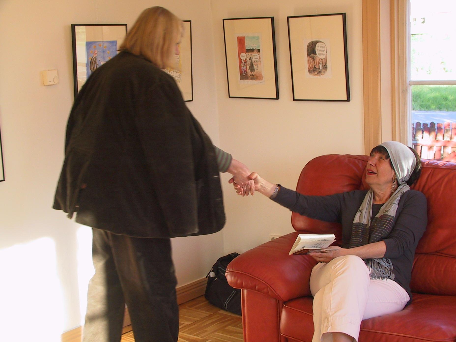 Argafreta Ståhl och Pia Höjeberg
